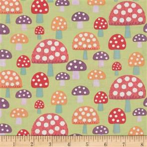 MISC  Pippet Moesby - Mushrooms Green