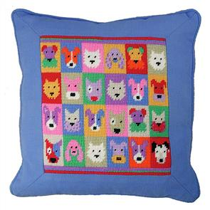 Jolly Red Tapestry Kit - Puppies