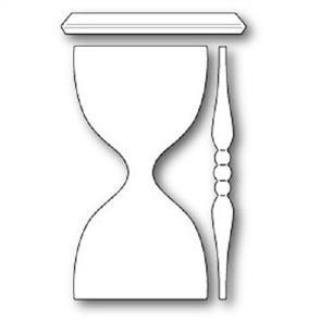 Poppystamps  Die - Grand Hour Glass