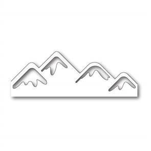 Poppystamps  Die - Snowy Mountaintops
