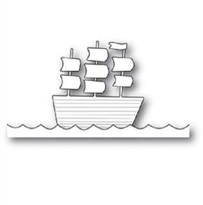 Poppystamps  Die - Tall Ship