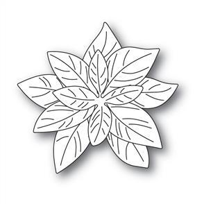 Poppystamps  Dies - Delicate poinsettias