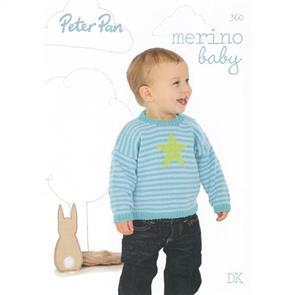 Peter Pan Merino Baby - Book 360
