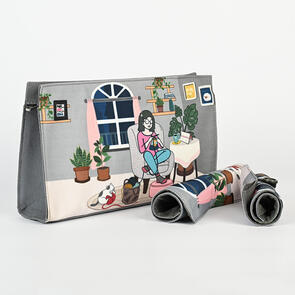 Knitpro Project Pouch with Roll Up Cases - Passion