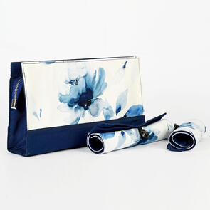 Knitpro Project Pouch with Roll Up Cases - Blossom