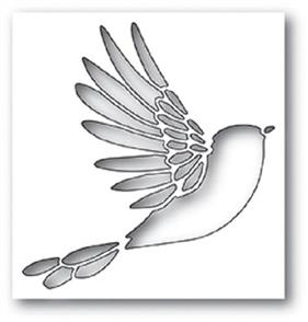 Poppystamps  Die - Winged Bird Collage