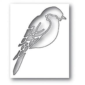 Poppystamps  Die - Perched Bird Collage