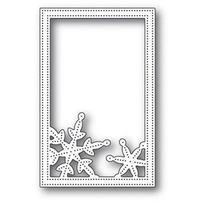 Poppystamps  Die - Simple Pinpoint Snowflake Frame