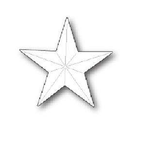 Poppystamps  Folk Star