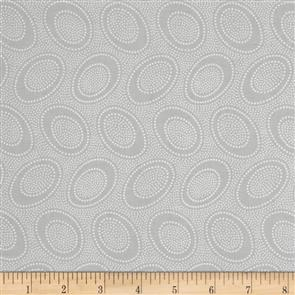 Free Spirit Kaffe Fassett Fabric - Aboriginal Dot Silver