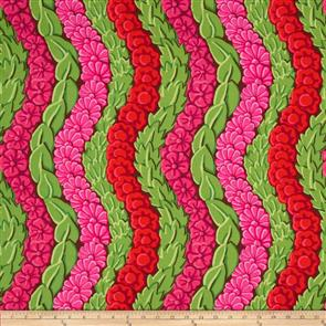 Free Spirit Kaffe Fassett Fabric - Serpentine Red