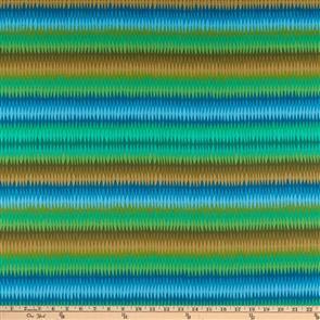 Free Spirit Kaffe Fassett Fabric - Diamond Stripe Green