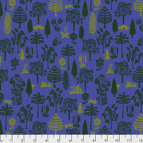 Free Spirit  - Fabric - Conservatory - Woodland Walk Collection by Nathalie Lete