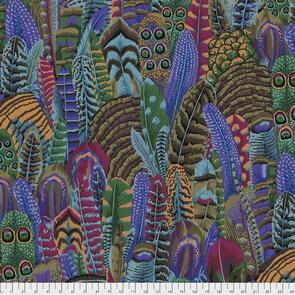 Free Spirit Kaffe Fassett Fabric - Feathers Autumn