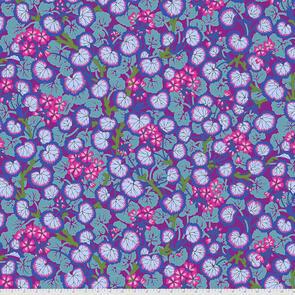 Free Spirit Kaffe Fassett Climbing Geraniums - Purple || August 2021