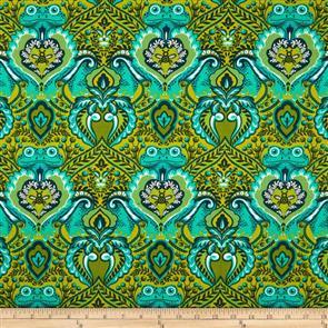 Free Spirit Tula Pink Fabric - All Stars - Frog Prince Myrtle