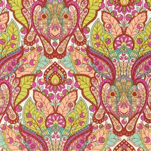 Free Spirit Tula Pink - Slow and Steady - The Hare Orange