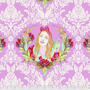 Free Spirit Tula Pink Fabric - Curiouser and Curiouser Collection - Alice - Wonder