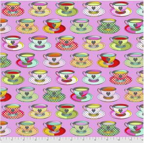 Free Spirit Tula Pink Fabric - Curiouser and Curiouser Collection - Tea Time - Wonder