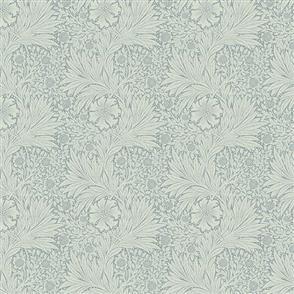 Free Spirit Morris & Co William  Fabric - Kelmscott - Marigold Aqua