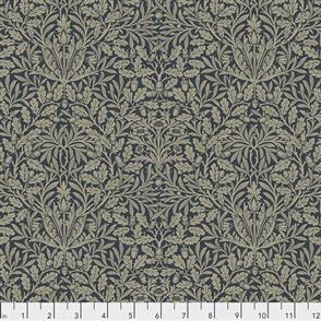 Free Spirit Morris & Co & Co Fabric - Pure Acorn Ink