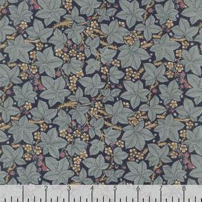 Free Spirit  - Fabric - Granada by Morris & Co - Indigo - PWWM056