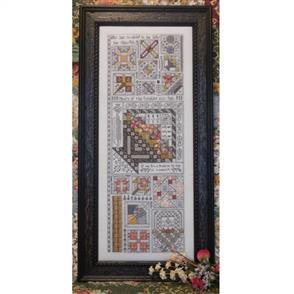 Rosewood Manor Cross Stitch Designs - Friendship Quilt