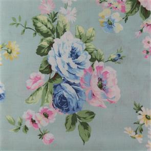 Quiltgate  Large Floral - 230011 Blue