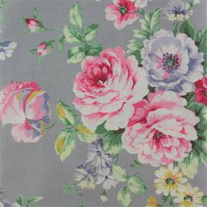 Quiltgate  Large Floral - 230011 Grey