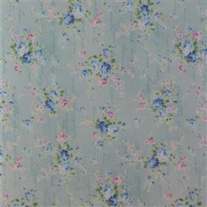 Quiltgate  Love Letters Floral - 230015 Blue