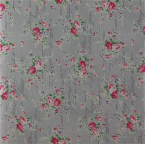 Quiltgate  Love Letters Floral - 230015 Grey