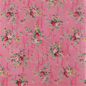 Quiltgate  Love Letters Floral - 230015 Pink