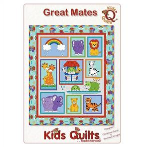 Kids Quilts  Great Mates Quilt Pattern