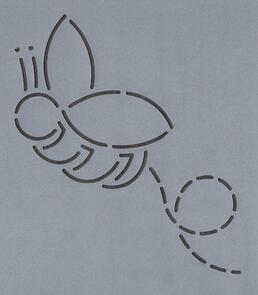 The Stencil Company  Bumblebee 3''