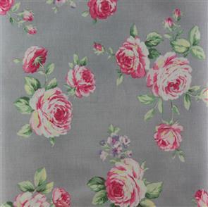 Quiltgate  Roses - 230013 Grey