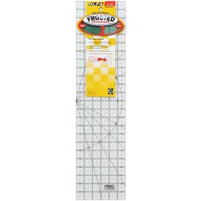 "OLFA Frosted Non-Slip Ruler ""The Essential"" 6""x24"""