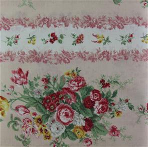Quiltgate  Striped Florals - Pink