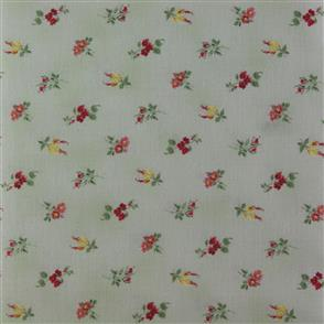Quiltgate  Tossed Bouquets - 218014 Green