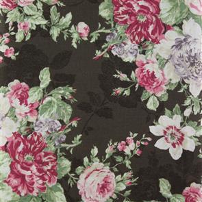 Quiltgate  Tea House Floral - 220011 Brown