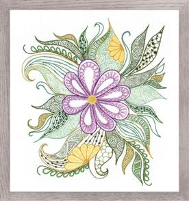 Riolis  Lovely Flower - Embroidery Kit
