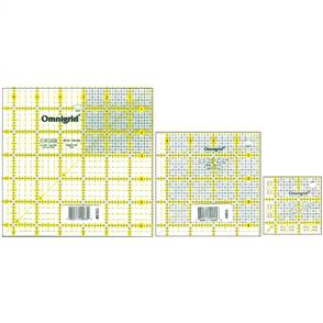 Omnigrid Ruler Set - Minis 3/Pkg