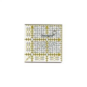 """Omnigrid  Quilter's Square 2.5"""" X 2.5"""""""
