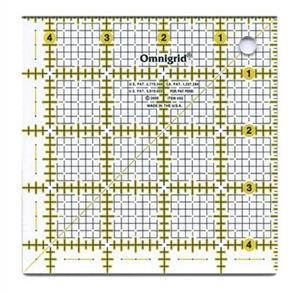 """Omnigrid  Quilter's Square 4.5"""""""