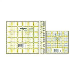 Omnigrid Ruler Set - Squares 3/Pkg