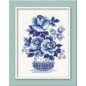 Riolis  Wild Roses - Cross Stitch Kit