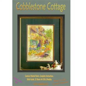 Rajmahal Cobblestone Cottage - Embroidery Kit