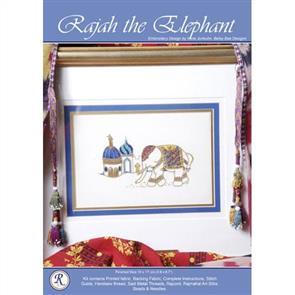 Rajmahal Rajah the Elephant Embroidery Kit