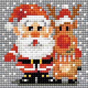 Riolis  Diamond Mosaic Embroidery Kit - Santa Claus