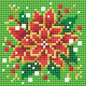 Riolis  Diamond Mosaic Embroidery Kit - Poinsettia
