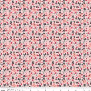 Riley Blake  Abbie's Garden Floral Pink